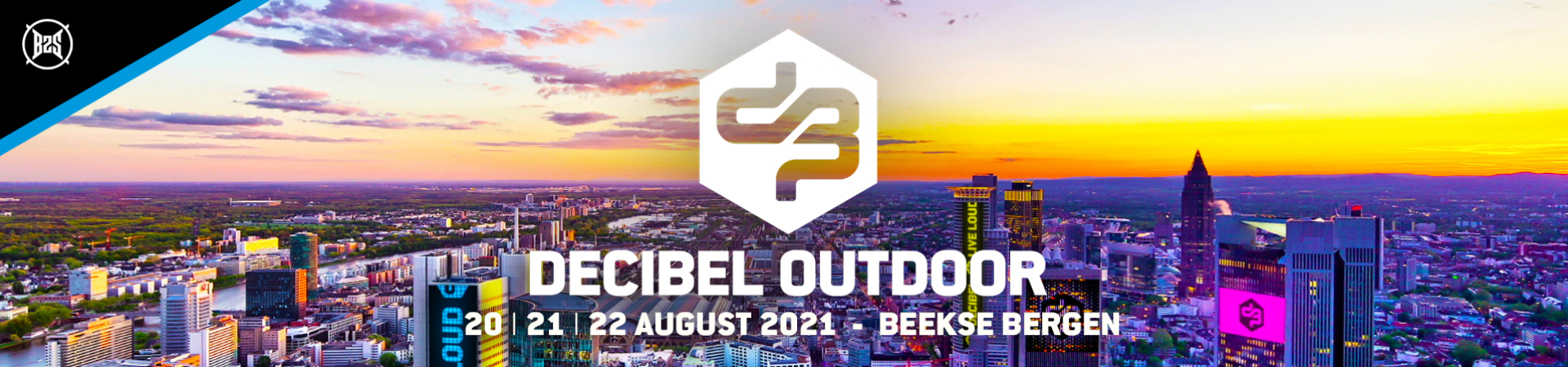 Decibel Outdoor banner